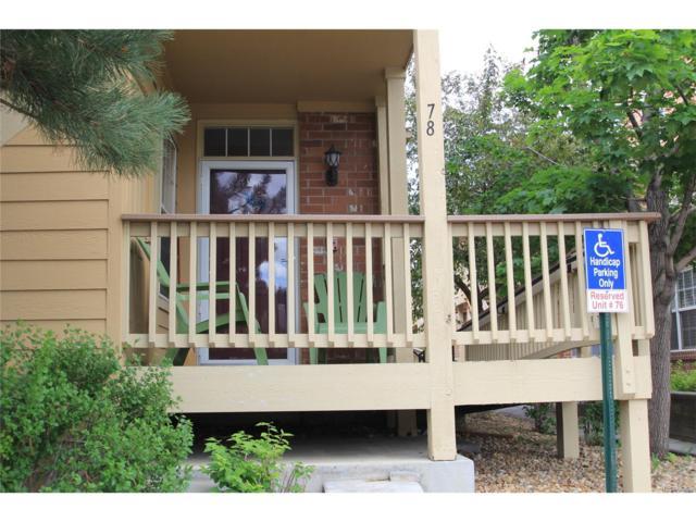 14207 E Grand Drive #78, Aurora, CO 80015 (MLS #3511554) :: 8z Real Estate