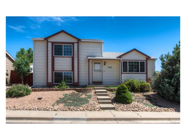 196 Quicksilver Avenue, Castle Rock, CO 80104 (#3516239) :: The Peak Properties Group
