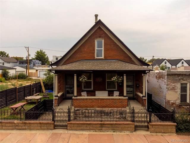 3634 Mariposa Street, Denver, CO 80211 (#3524567) :: Bring Home Denver with Keller Williams Downtown Realty LLC