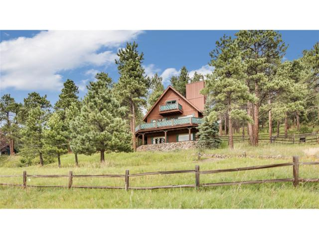 5898 Lone Peak Drive, Evergreen, CO 80439 (MLS #3525021) :: 8z Real Estate