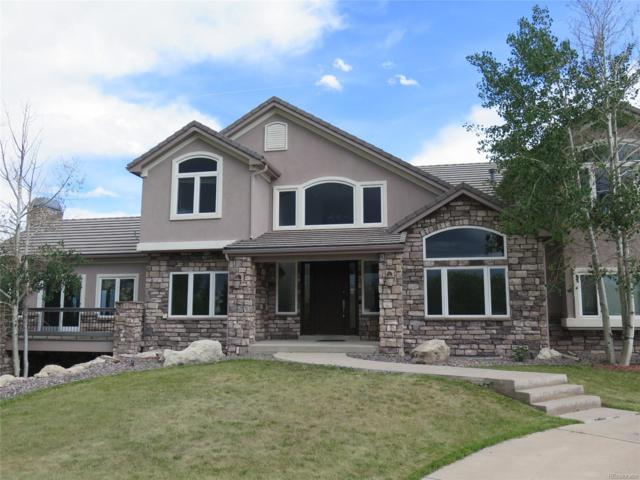 830 Sapphire Drive, Castle Rock, CO 80108 (#3525193) :: The HomeSmiths Team - Keller Williams