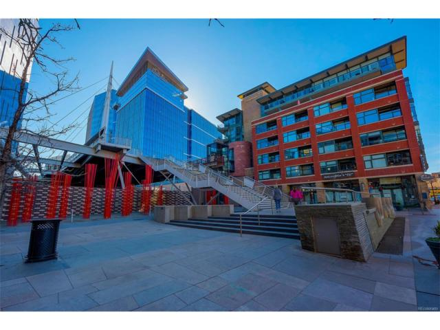 2100 16th Street #202, Denver, CO 80202 (MLS #3526840) :: 8z Real Estate