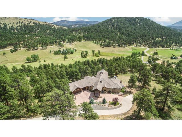 1644 Pinedale Ranch Circle, Evergreen, CO 80439 (#3526974) :: The Peak Properties Group