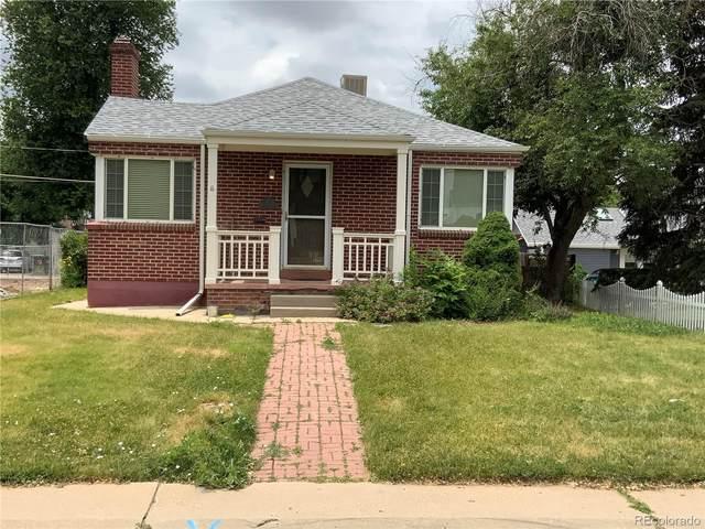 1111 S Adams Street, Denver, CO 80210 (#3527062) :: Finch & Gable Real Estate Co.