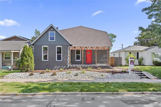 4920 Perry Street, Denver, CO 80212 (#3530647) :: My Home Team