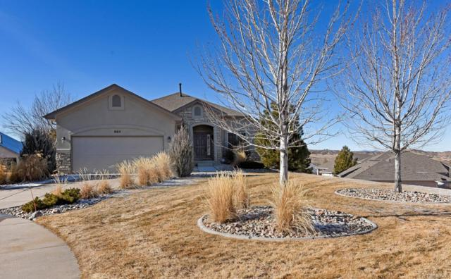 665 Easton Court, Castle Rock, CO 80104 (#3533771) :: The Thayer Group