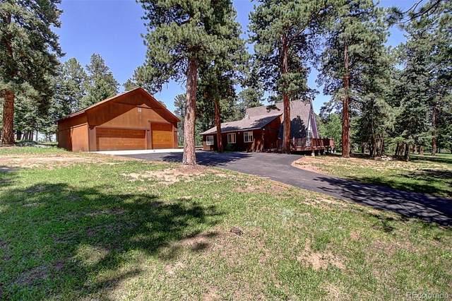 26631 Vosler Street, Conifer, CO 80433 (#3534785) :: Finch & Gable Real Estate Co.