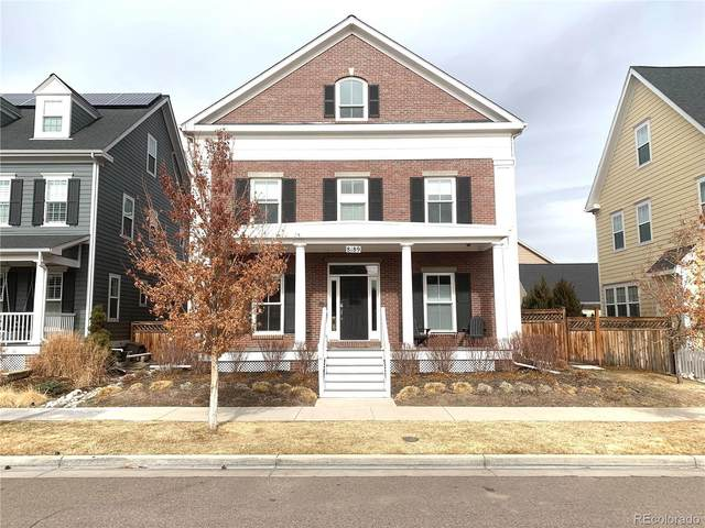 8189 E 32nd Avenue, Denver, CO 80238 (#3535445) :: The Gilbert Group