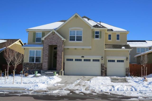 10466 Harrisburg Street, Parker, CO 80134 (#3536439) :: The Tamborra Team