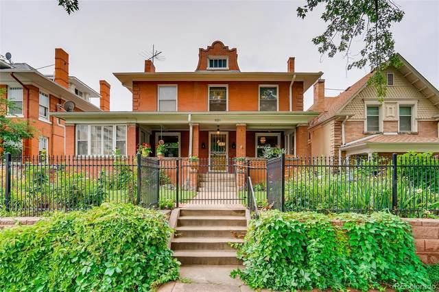 839 N Ogden Street, Denver, CO 80218 (#3537585) :: The Gilbert Group