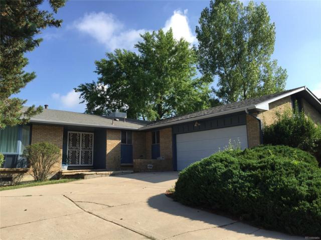 8635 E Radcliff Avenue, Denver, CO 80237 (#3538842) :: The Peak Properties Group