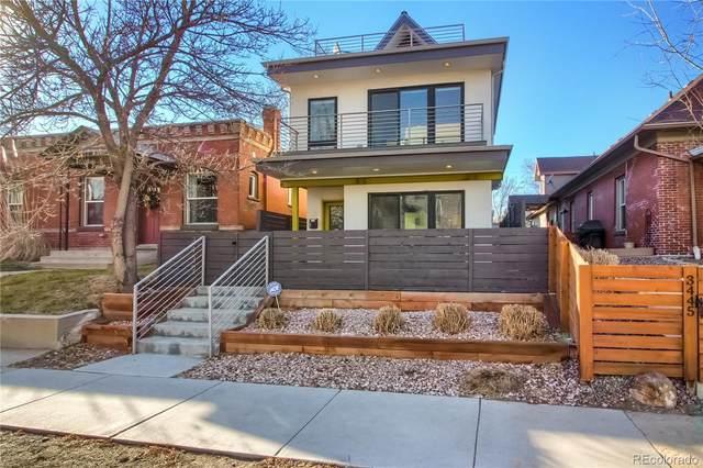 3439 Tejon Street, Denver, CO 80211 (#3538886) :: milehimodern