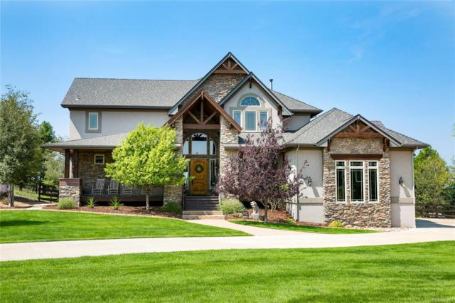 5475 Grand Fir Way, Parker, CO 80134 (#3539648) :: The DeGrood Team