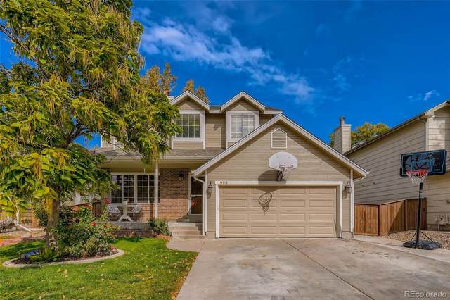 935 Brittany Way, Highlands Ranch, CO 80126 (#3539873) :: The DeGrood Team