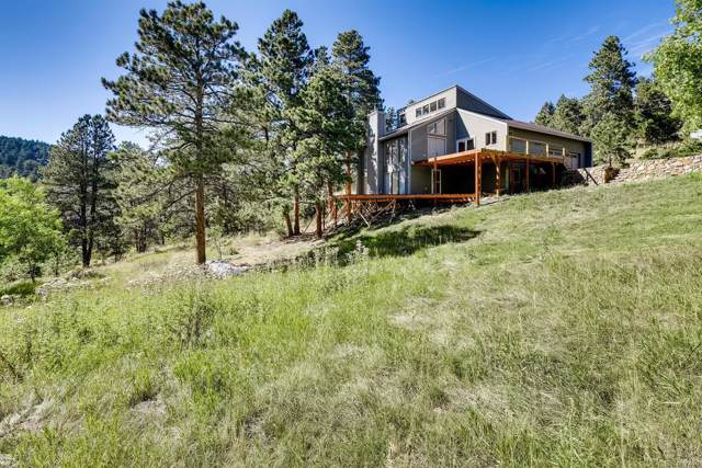9053 Gray Fox Drive, Evergreen, CO 80439 (MLS #3540445) :: 8z Real Estate