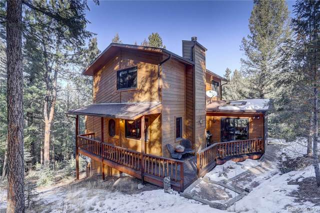28101 Camel Heights Circle, Evergreen, CO 80439 (#3540534) :: iHomes Colorado