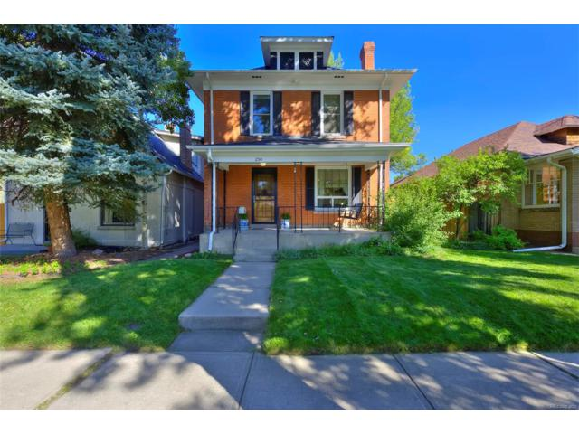 250 S Emerson Street, Denver, CO 80209 (#3540641) :: The Pete Cook Home Group