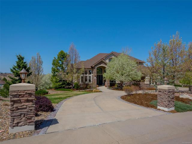 8757 Ridgepointe Drive, Castle Pines, CO 80108 (#3541073) :: The Peak Properties Group