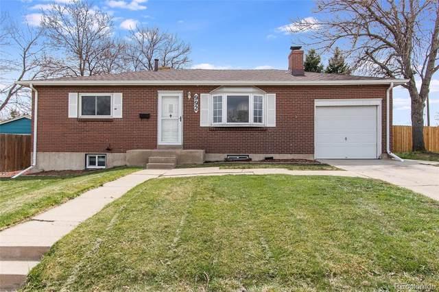 992 S Simms Street, Lakewood, CO 80228 (#3541748) :: Mile High Luxury Real Estate
