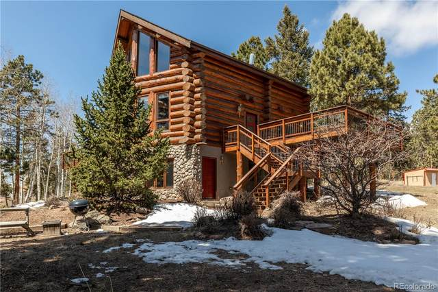 12222 S Wamblee Valley Road, Conifer, CO 80433 (#3547790) :: The Griffith Home Team