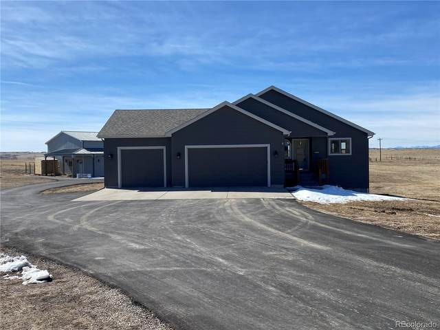 43537 Evening Star Court, Elizabeth, CO 80107 (#3548452) :: The Griffith Home Team