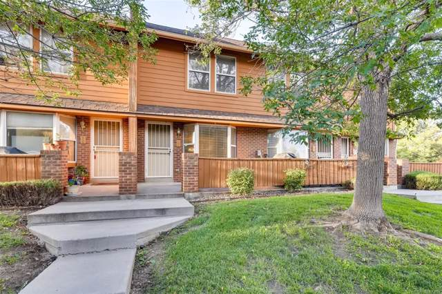 3300 W Florida Avenue #95, Denver, CO 80219 (#3548704) :: The Heyl Group at Keller Williams