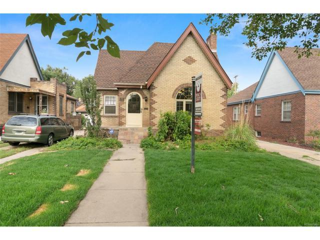 1536 Holly Street, Denver, CO 80220 (MLS #3549332) :: 8z Real Estate