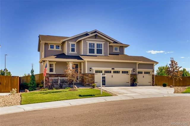 5122 E 140th Place, Thornton, CO 80602 (#3549807) :: The Griffith Home Team