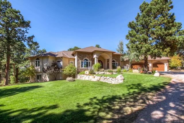 593 Highway 105, Palmer Lake, CO 80133 (#3550877) :: Harling Real Estate