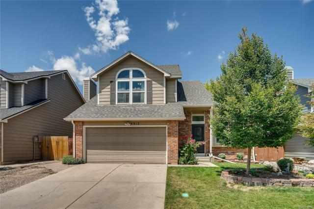 4915 E Ashton Avenue, Castle Rock, CO 80104 (#3551324) :: The Peak Properties Group