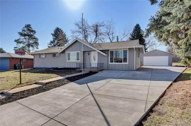 6116 S Adams Drive, Centennial, CO 80121 (MLS #3552041) :: 8z Real Estate