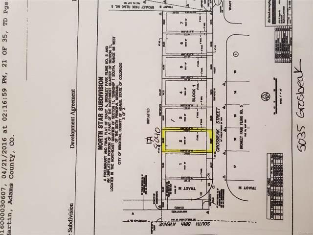 5035 Grosbeak Street, Brighton, CO 80601 (MLS #3552503) :: 8z Real Estate