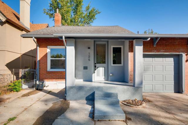 125 E Maple Avenue, Denver, CO 80209 (#3553776) :: My Home Team