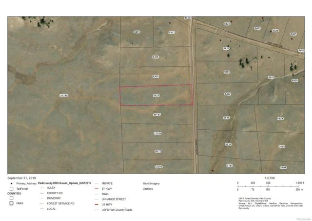 000 Co Road 53, Hartsel, CO 80449 (#3556592) :: Structure CO Group