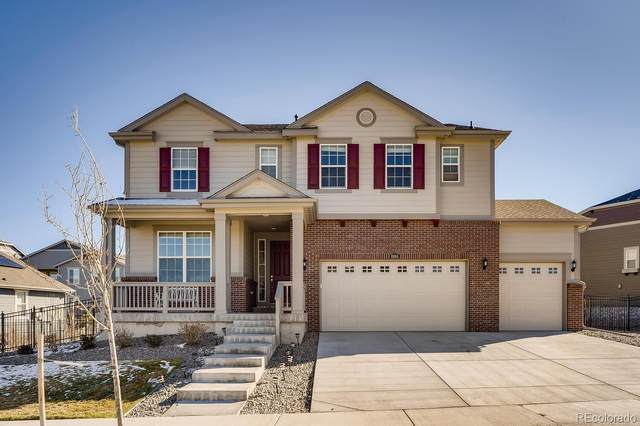 8184 S Vandriver Way, Aurora, CO 80016 (#3558809) :: The DeGrood Team
