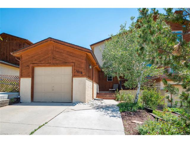 1616 Secrest Street, Golden, CO 80401 (#3564147) :: The City and Mountains Group