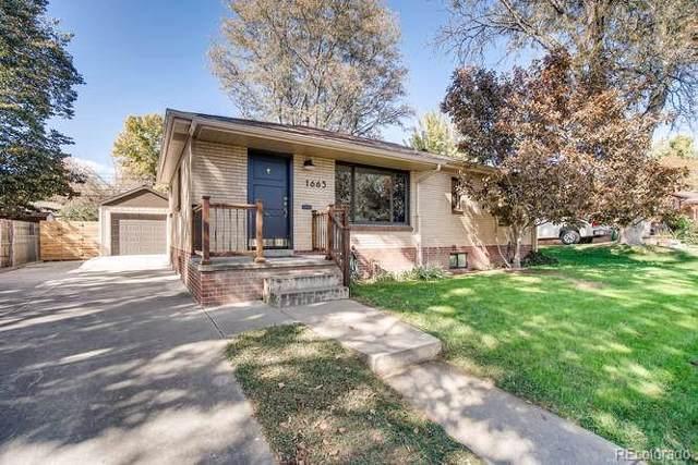 1663 S Vrain Street, Denver, CO 80219 (#3566276) :: My Home Team