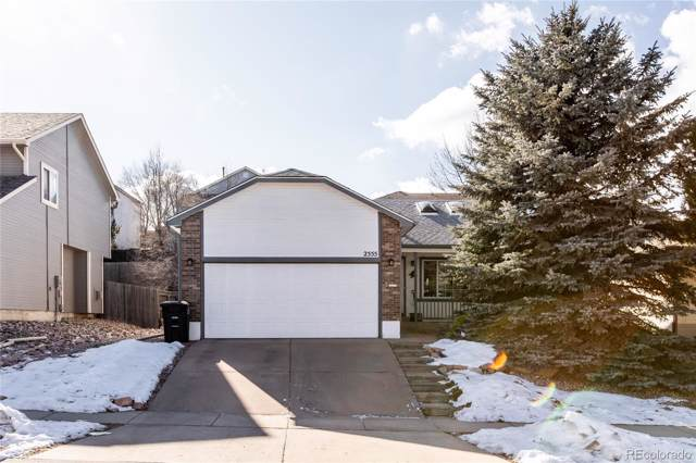 2555 Lyncrest Drive, Colorado Springs, CO 80918 (#3566804) :: Harling Real Estate