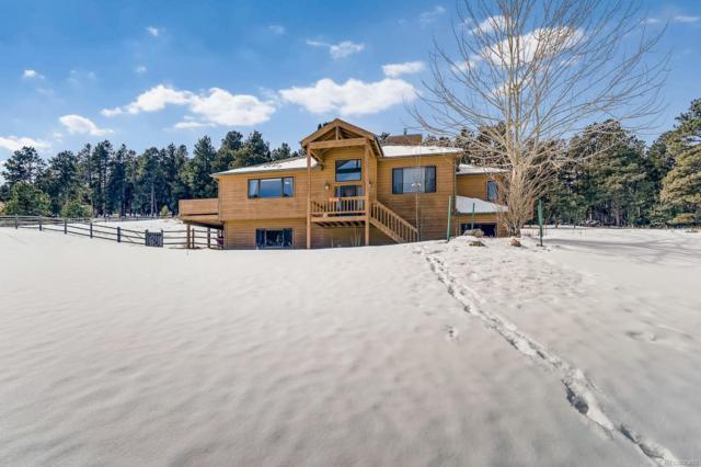 9104 Armadillo Trail, Evergreen, CO 80439 (MLS #3567616) :: 8z Real Estate
