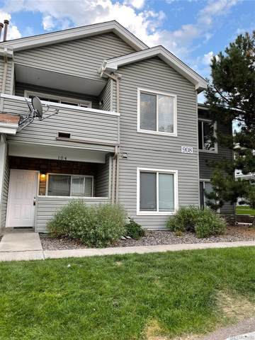 908 S Yampa Street #104, Aurora, CO 80017 (#3567829) :: The Griffith Home Team