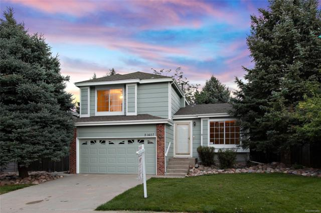 21407 E Crestridge Place, Centennial, CO 80015 (#3567842) :: Colorado Home Realty