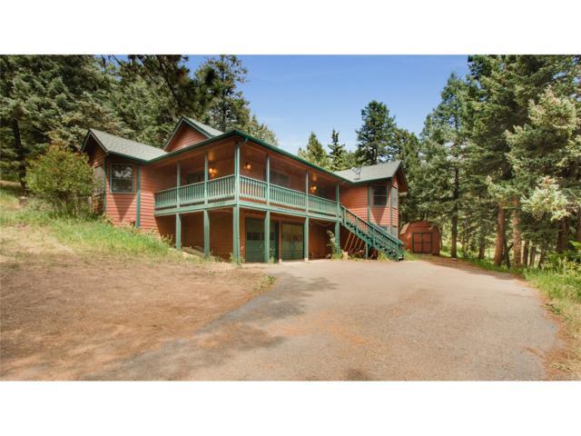 27053 Arrowhead Lane, Conifer, CO 80433 (MLS #3569097) :: 8z Real Estate