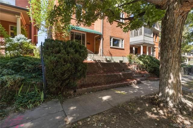 1433 Saint Paul Street, Denver, CO 80206 (#3569563) :: Own-Sweethome Team