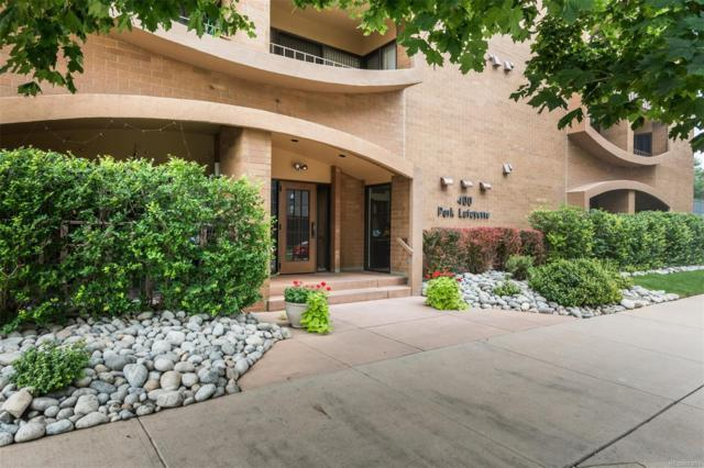 400 S Lafayette Street #1203, Denver, CO 80209 (#3570459) :: The Galo Garrido Group