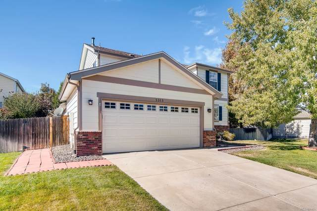5353 S Tibet Street, Aurora, CO 80015 (#3571659) :: Bring Home Denver with Keller Williams Downtown Realty LLC