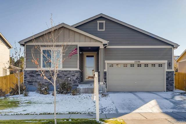 22190 E Mansfield Place, Aurora, CO 80018 (#3571974) :: The DeGrood Team