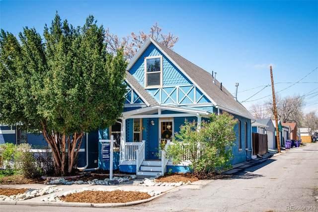 3319 Julian Street, Denver, CO 80211 (#3579713) :: milehimodern