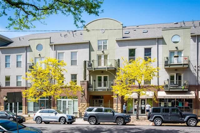 837 E 17th Avenue 3J, Denver, CO 80218 (#3580407) :: My Home Team