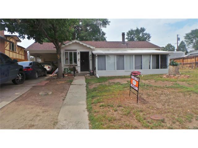 1357 S Tennyson Street, Denver, CO 80219 (MLS #3582511) :: 8z Real Estate