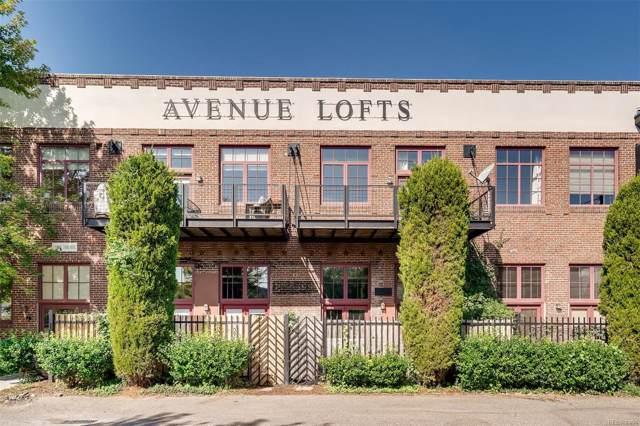 1000 E 18th Avenue #107, Denver, CO 80218 (#3583216) :: Arnie Stein Team | RE/MAX Masters Millennium